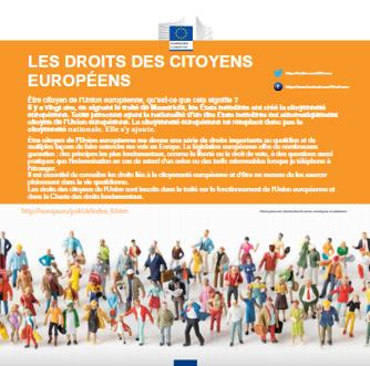 Les droits des citoyens européens