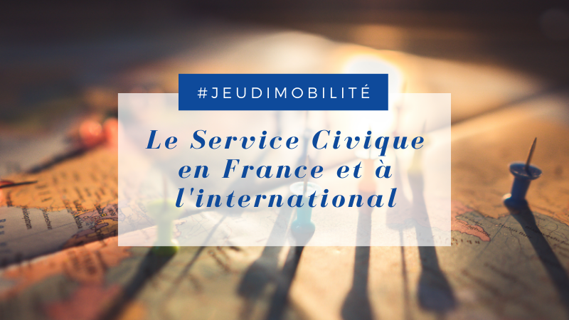 Le service civique en France et à l'international