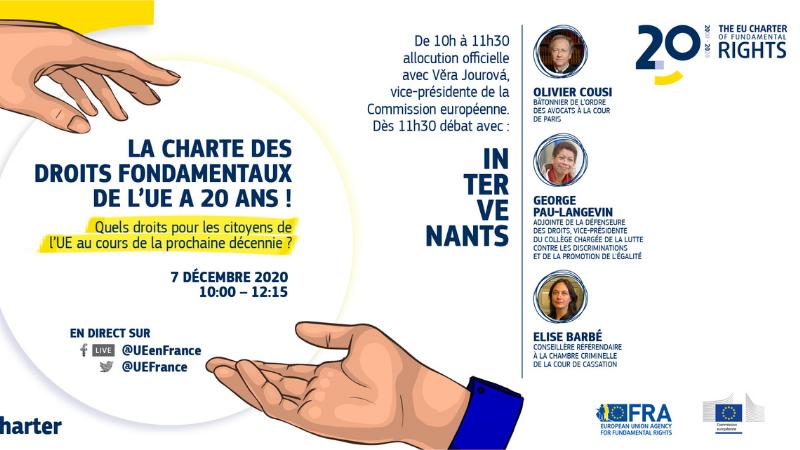 La Charte des droits fondamentaux de l'UE a 20 ans !