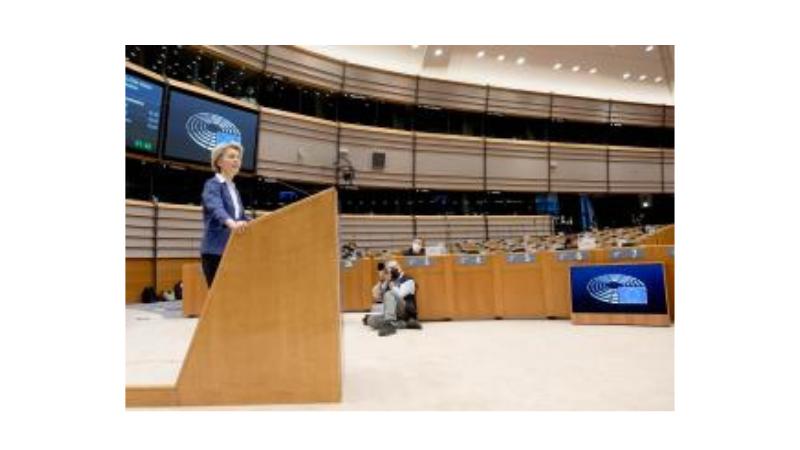 Discours de la présidente von der Leyen sur l'investiture du nouveau président des États-Unis