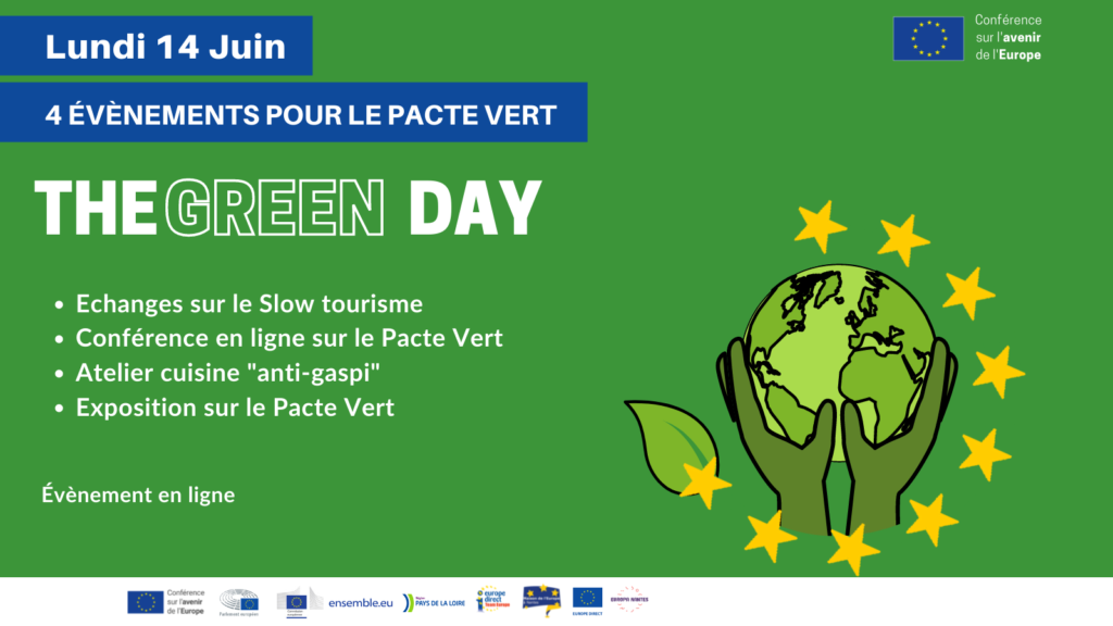 GREEN DAY : Une journée pour le Pacte Vert
