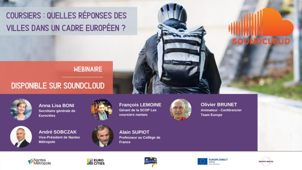 PODCAST Coursiers : Quelles réponses des villes dans un cadre européen ?