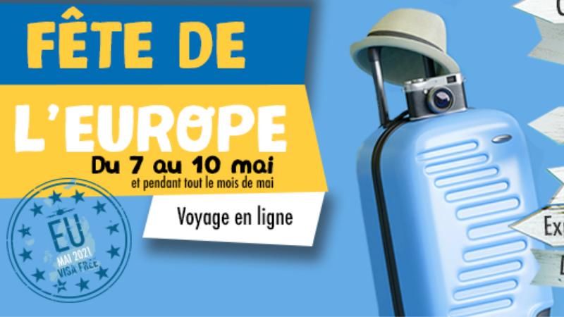 Fête de l'Europe 2021 à Nantes : un voyage en ligne du 7 au 10 mai !