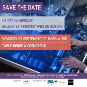 EUROPAGORA : Le défi numérique :  enjeux et perspectives en Europe !
