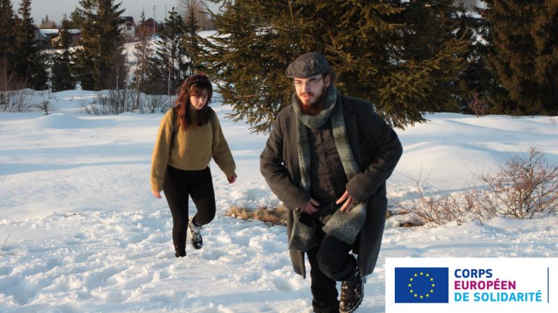 Trouver sa voie grâce au Corps Européen de Solidarité