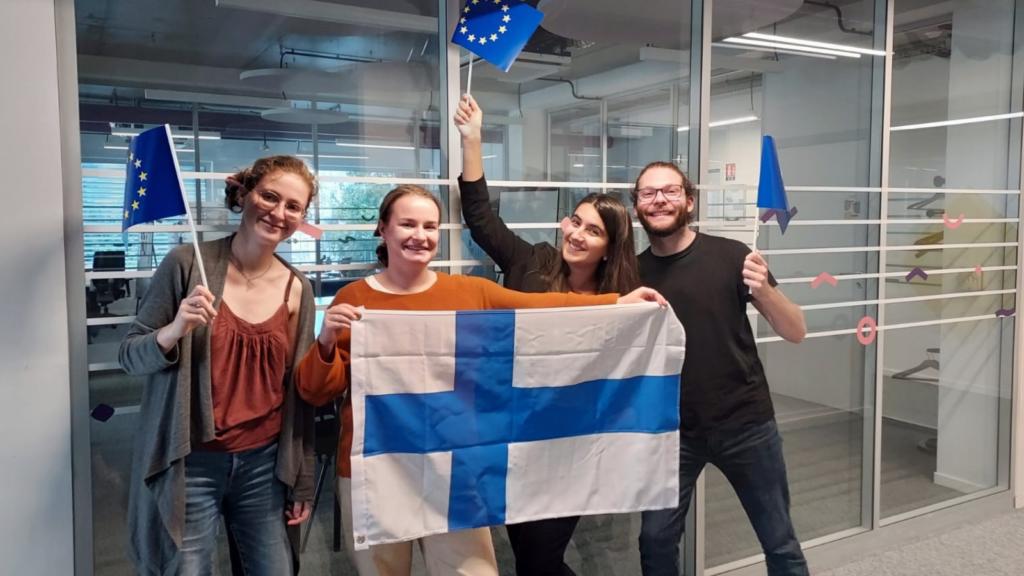 Zoom sur : Mari, nouvelle volontaire finlandaise à la Maison de l'Europe !